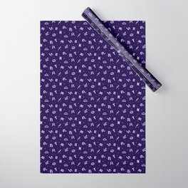 Symbols of Astrology Wrapping Paper