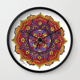 Mandala Prototype 1 Wall Clock