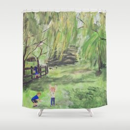 Kids will be Kids Shower Curtain