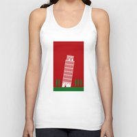 italy Tank Tops featuring ITALY by Marcus Wild