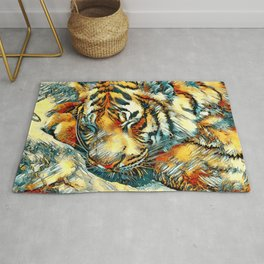 AnimalArt_Tiger_20170606_by_JAMColorsSpecial Rug