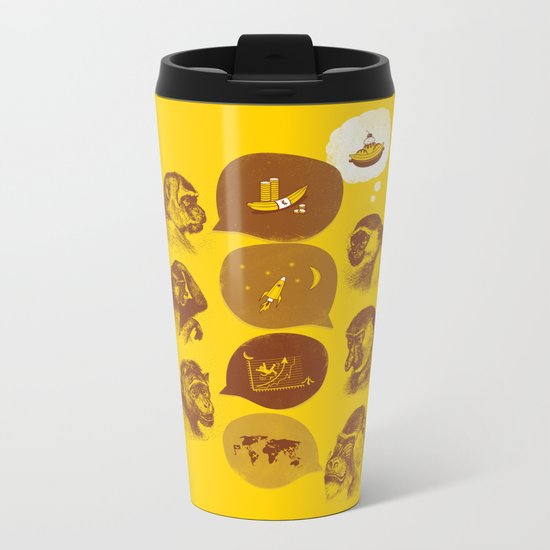 Bananaz Metal Travel Mug