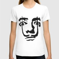 salvador dali T-shirts featuring salvador dali by b & c