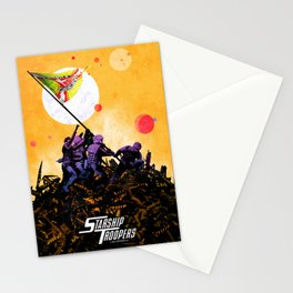 Starship Troopers Stationery Cards