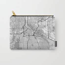Minneapolis Map Line Carry-All Pouch