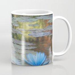 Water Lilies Afloat Coffee Mug
