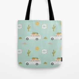 Road Trippin' in Mint Tote Bag