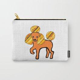 Pop Art Poodle Carry-All Pouch