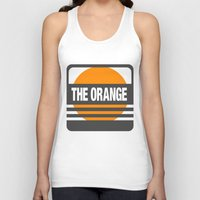 metal gear Tank Tops featuring Metal Gear Solid: The Orange by koukiburra
