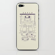 Super Entertainment System (light) iPhone & iPod Skin