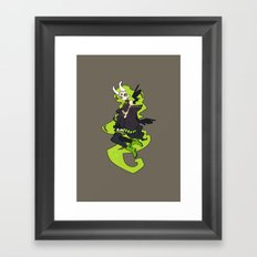 Skulker Framed Art Print