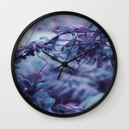 Nature in pastel 02 Wall Clock