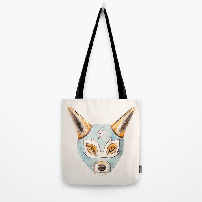 Andrew, the Fox Wrestler Tote Bag