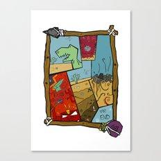Dino Time  Canvas Print