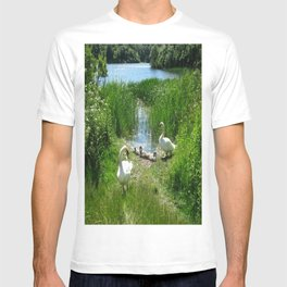 Bosherston Lily Ponds.Pembrokeshire.Wales. T-shirt