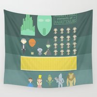 oz Wall Tapestries featuring Wizard of Oz by Seez