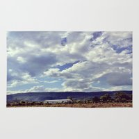 tennessee Area & Throw Rugs featuring Tennessee Sky by molliemacks