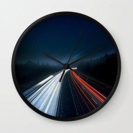 Super Highway Wall Clock