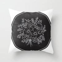 circle Throw Pillows featuring circle by aticnomar