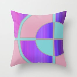 BullsEye: Moods Throw Pillow