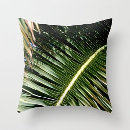 Palm bone Throw Pillow