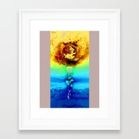 surrealism Framed Art Prints featuring Surrealism by PlasmaGoo