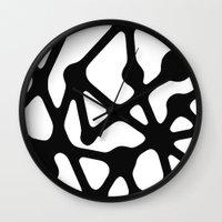 constellation Wall Clocks featuring Constellation by muchö
