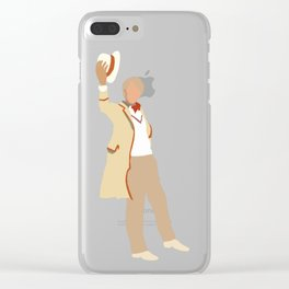 Fifth Doctor: Peter Davison Clear iPhone Case