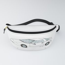 Flat Tire Firebird Fanny Pack