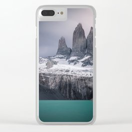 Three giants Clear iPhone Case