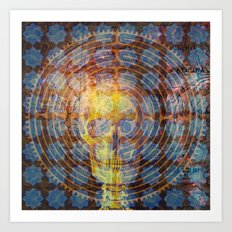 Labyrinth of Mind Art Print