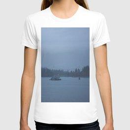 Foggy harbour Vancouver T-shirt