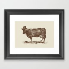 Cow Cow Nut #1 Framed Art Print