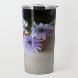 Purple wildflowers in cup Travel Mug