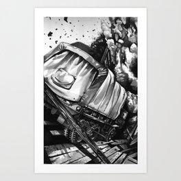 GMC Truck Part 2 Art Print