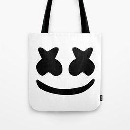 Marshmello smile Tote Bag
