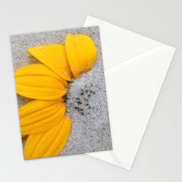 Sunflower in the Sand Stationery Cards