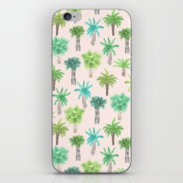 Watercolor Palm Trees iPhone Skin