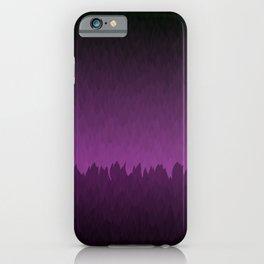 Ombre Purple Sky iPhone Case