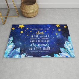 Star and Diamonds Rug