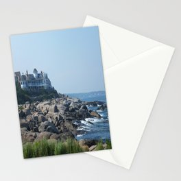 Nubble Lighthouse Maine Beach Stationery Cards