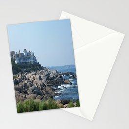 Nubble Lighthouse Maine Beach Stationery Cards