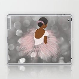 African American Ballerina Dancer Laptop & iPad Skin