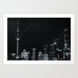 Shanghai Bund Art Print