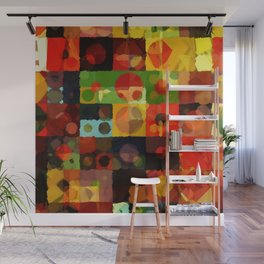 Digital Quilt Wall Mural