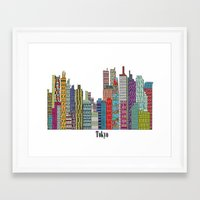 tokyo Framed Art Prints featuring Tokyo by bri.buckley