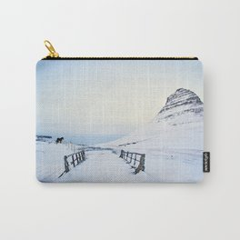 Kirkjufell- Icelandic Horses Carry-All Pouch