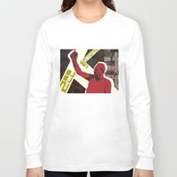 snatch Long Sleeve T-shirts featuring zee germans  by Andra Vlasceanu