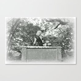 Lily in Arcadia (1) Canvas Print