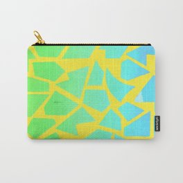 Psychedelic Giraffe Carry-All Pouch